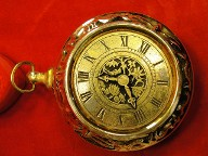 Large Pocket Watch Style Trinket Box