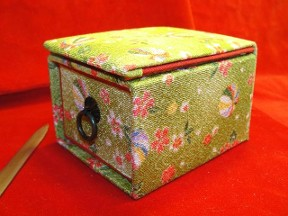 Youth Drawer & Mirror Jewelry Travel Trinket Box