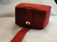 Red Purse Jewelry Travel Case