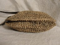 Cappelli Crochet Cross Body Pouch Bag Purse